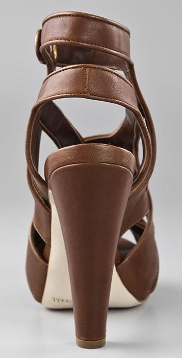 Loeffler Randall Keira Snap Platform Sandals