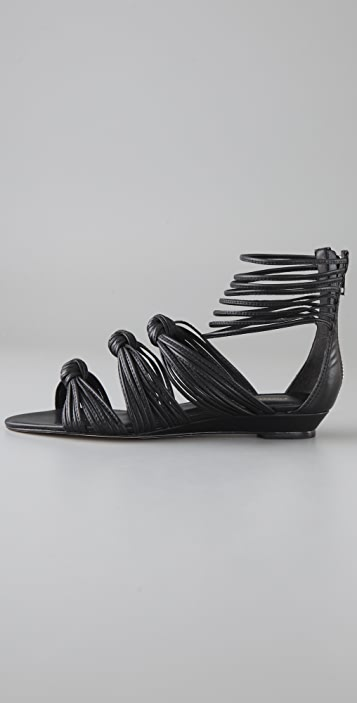 Loeffler Randall Enid Mignon Knotted Sandals