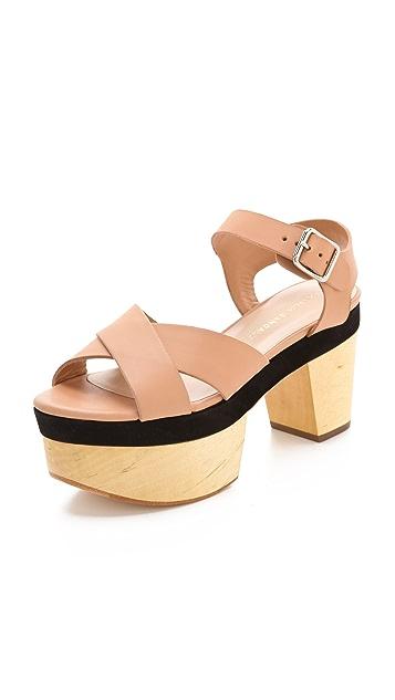 Loeffler Randall Starrett Platform Sandals