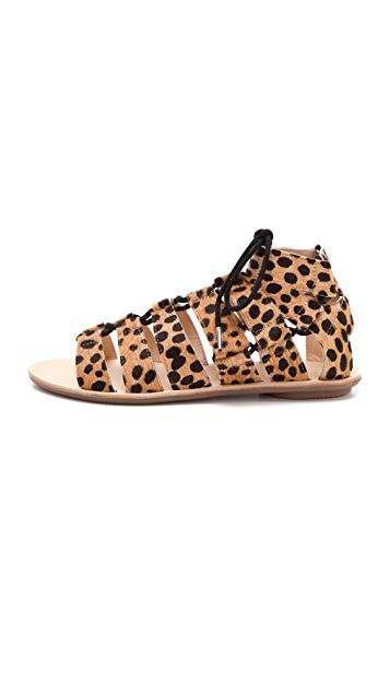 Loeffler Randall Skye Gladiator Haircalf Sandals