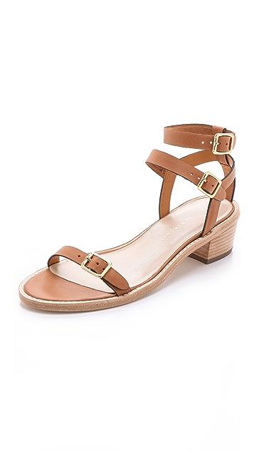 Loeffler Randall Heddie Stacked Sandals