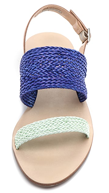 Loeffler Randall Dree Woven Sandals