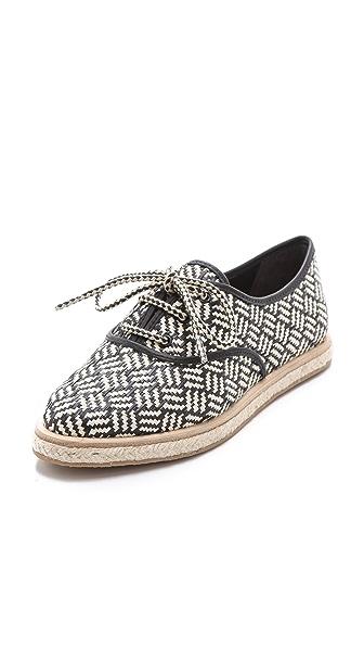Loeffler Randall Odile Raffia Tennis Shoes