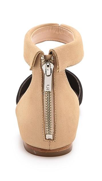 Loeffler Randall Pippa Collar d'Orsay Flats