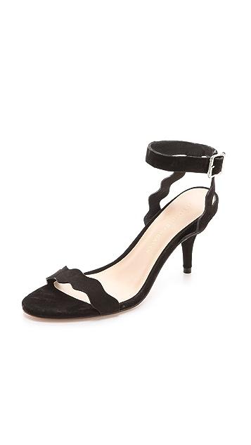 Loeffler Randall Reina Kitten Heel Sandals