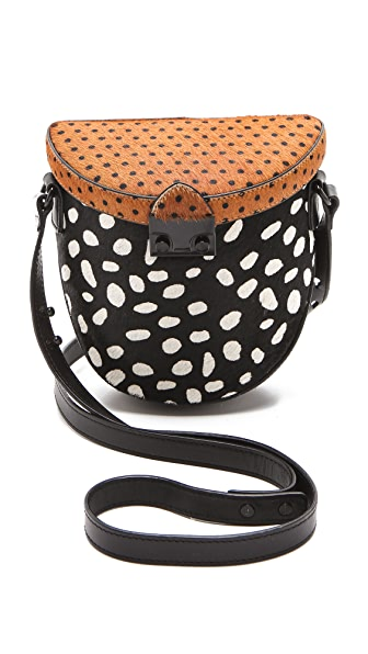 Loeffler Randall The Haircalf Shooter Bag