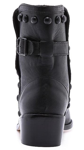 Loeffler Randall Farris Studded Moto Boots