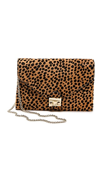 Loeffler Randall Haircalf Lock Clutch