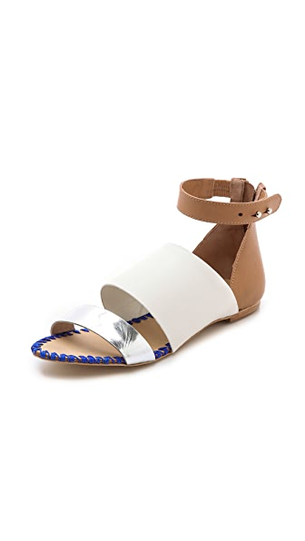 Loeffler Randall Minna Colorblock Sandals