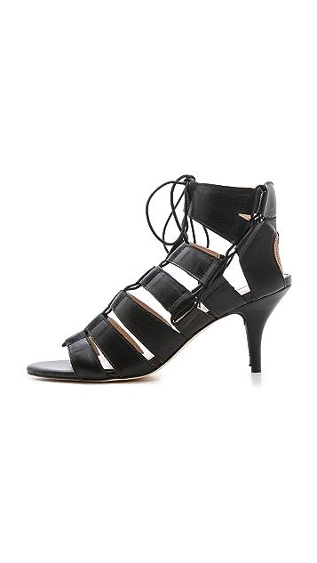 Loeffler Randall Luiza Lace Up Sandals