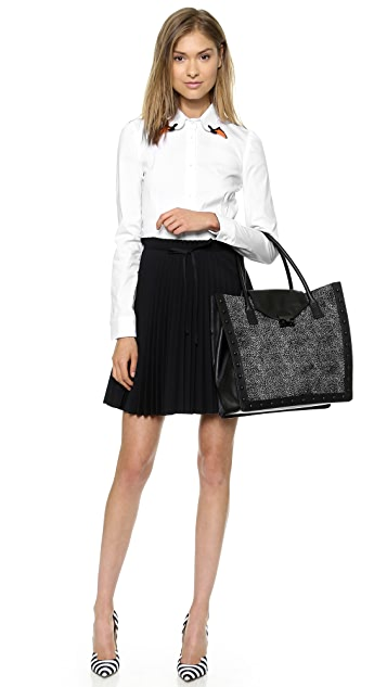 Loeffler Randall Haircalf Work Tote