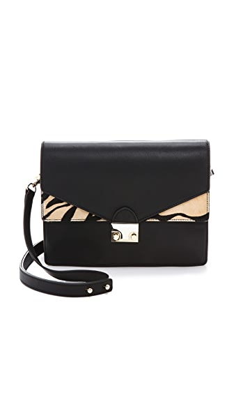 Loeffler Randall Agenda Haircalf Shoulder Bag