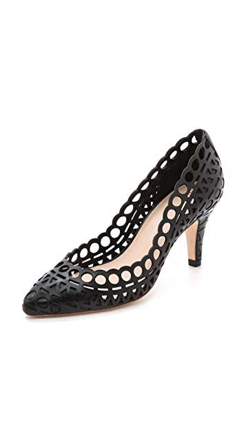 Loeffler Randall Tali Perforated Pumps