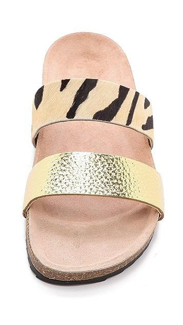 Loeffler Randall Paz Two Band Haircalf Sandals
