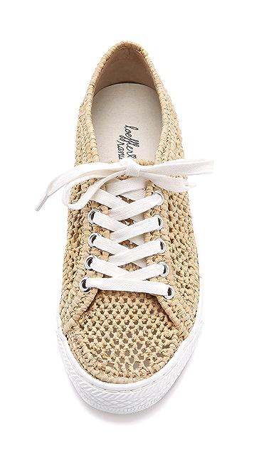 Loeffler Randall Cora Raffia Sneakers