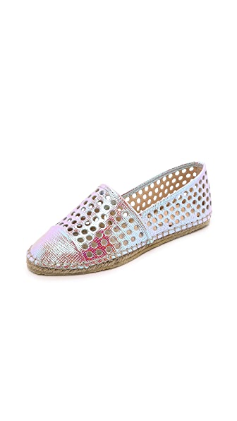 Shop Loeffler Randall online and buy Loeffler Randall Mara Espadrilles Pearl shoes online