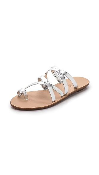 Loeffler Randall Sarie Strappy Flat Sandals