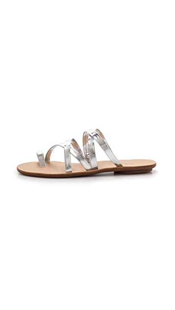 Loeffler Randall Sarie Strappy Flat Sandals
