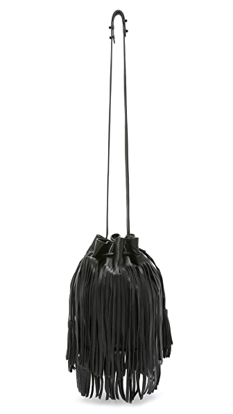 Loeffler Randall Fringe Industry Bucket Bag