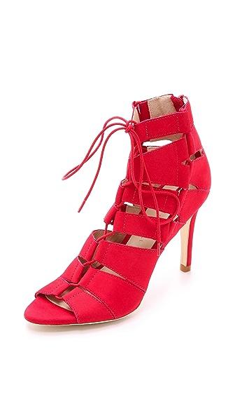 Loeffler Randall Lottie Lace Up Sandals