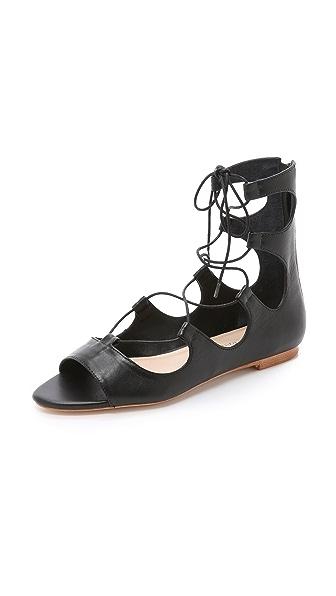 Loeffler Randall Dani Gladiator Sandals - Black