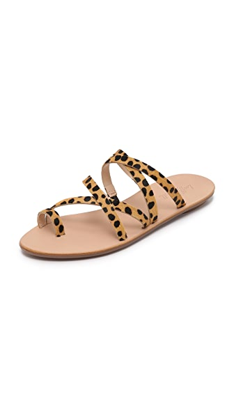 Loeffler Randall Sarie Sandals In Cheetah