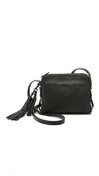 Loeffler Randall Triple Zip Cross Body Bag