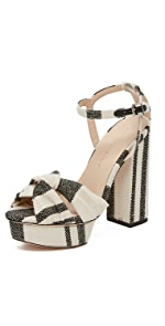 Arbella Platform Sandals                Loeffler Randall