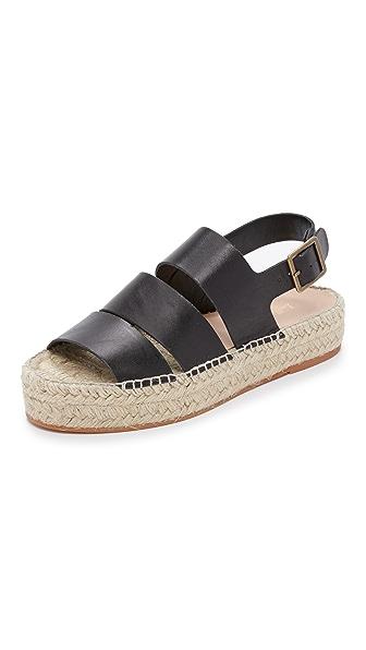 Loeffler Randall Ulla Flatform Espadrille Sandals