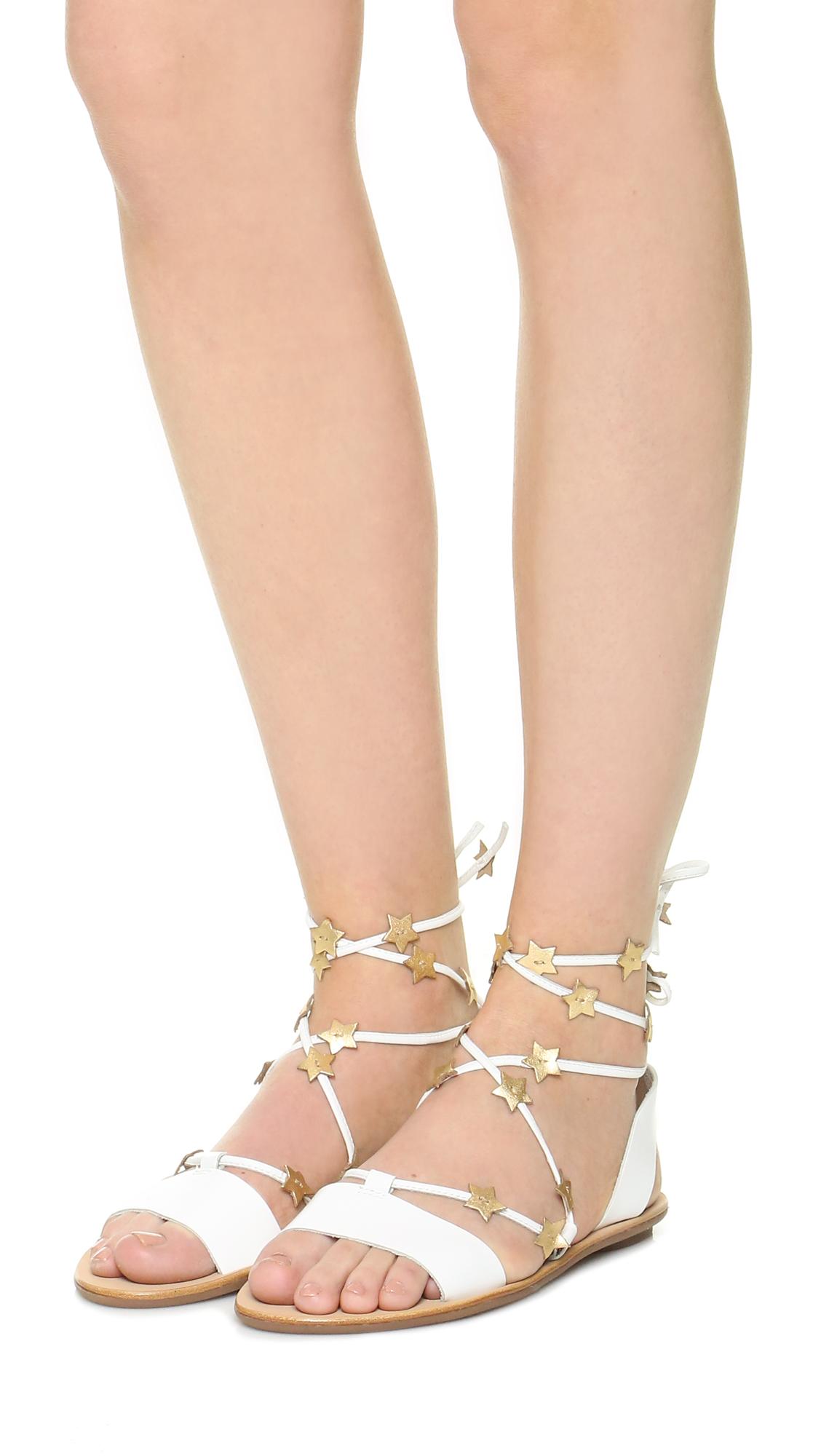 a0e52addc974 Loeffler Randall Starla Flat Sandals