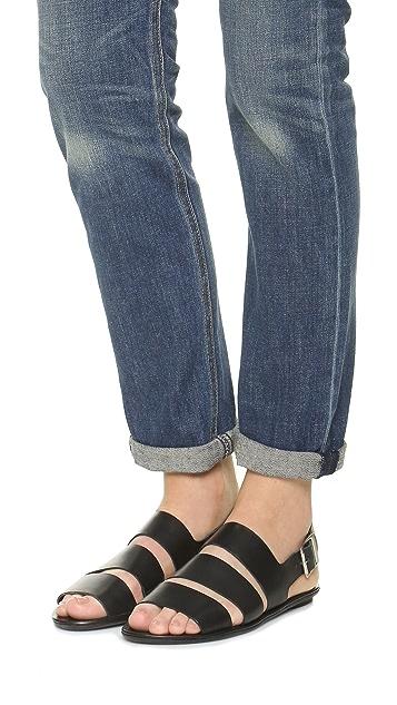 Loeffler Randall Silla Flat Sandals