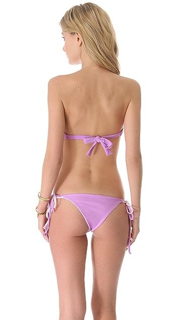 Lolli Cherry Bomb Bow Bandeau Bikini Top