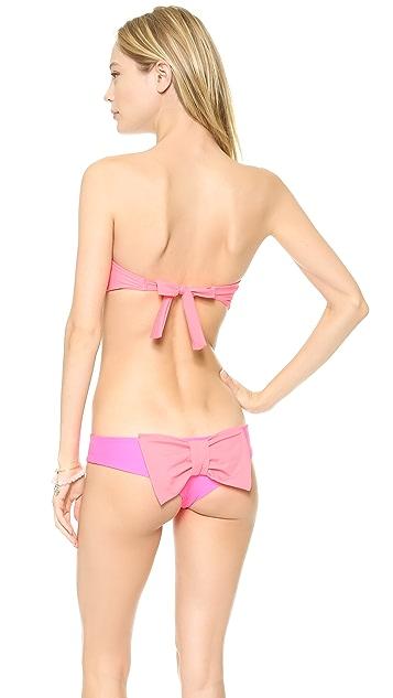 Lolli Up Up Bandeau Bikini Top