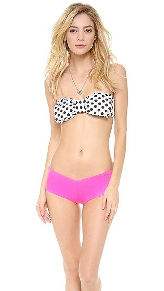 Lolli Big Bow Bandeau Bikini Top