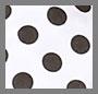 Black/White Polka Dots