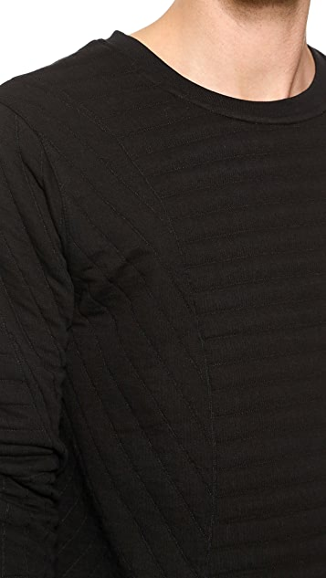 Lot78 Quilted Pullover