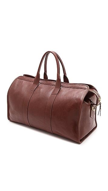 Lotuff Leather Duffel Travel Bag