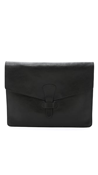 Lotuff Leather 15 Inch Leather Portfolio