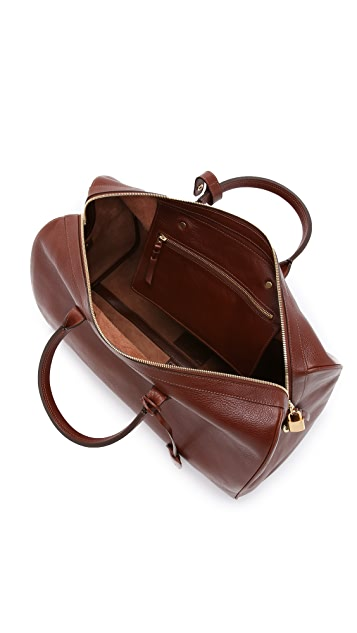 Lotuff Leather #10 Weekender Bag