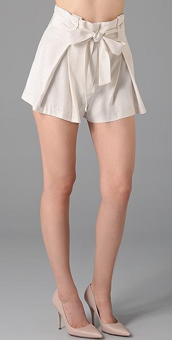 Lover Arabesque Bow Shorts