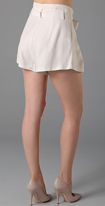 Lover Arabesque Bow Shorts