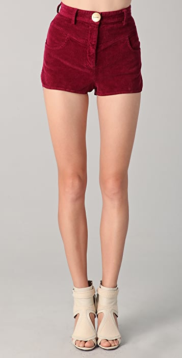 Lover Corduroy Ono Shorts