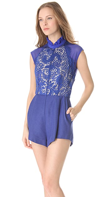 Lover Eternity Lace Romper