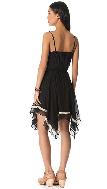 Love Sam Crisscross Lace Dress