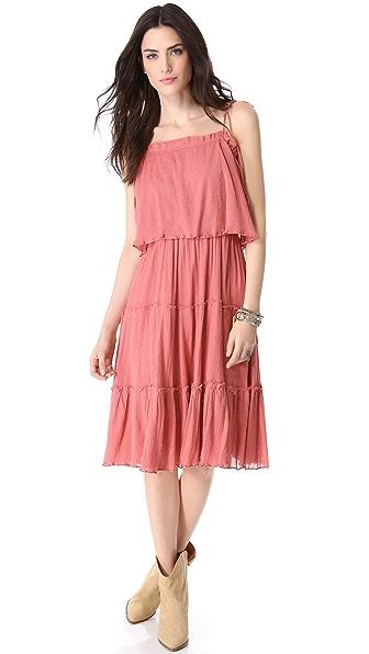 Love Sam Tiered Gauze Dress