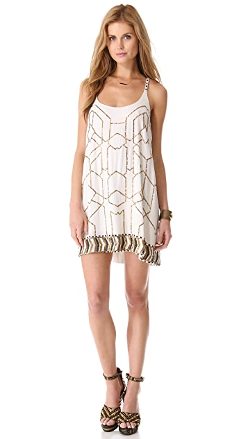 Love Sam Beaded Mini Dress