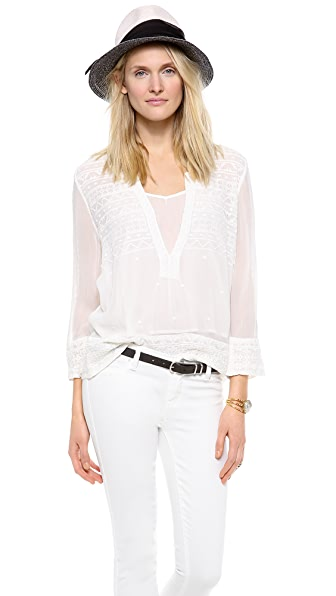 Love Sam Embroidered Blouse