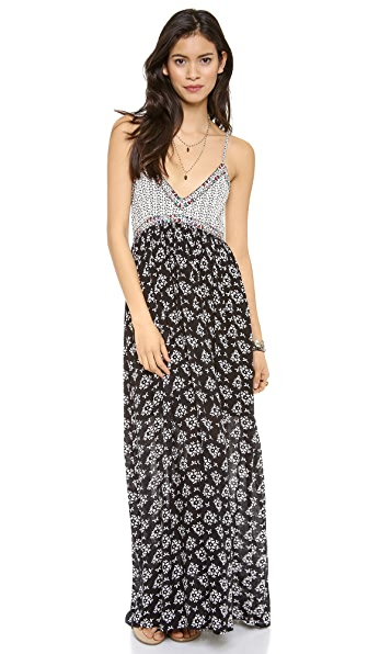 Love Sam Floral Maxi Dress