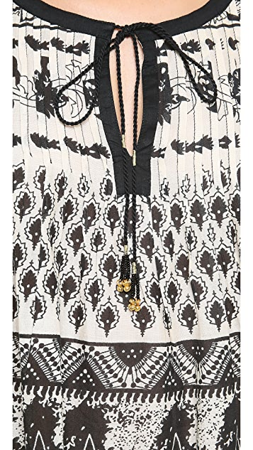 Love Sam Floral Print Blouse