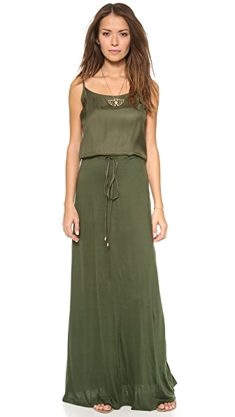 Love Sam Maxi Dress with Drawstring